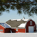 Snowy Barn-0087 by Gary Gingrich Galleries