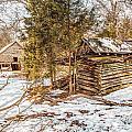 Snowy Barn by Bobby  Hicks