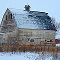 Snowy Barn by Gary Mosman