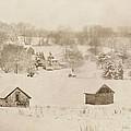 Snowy Boyertown by Trish Tritz