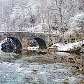 Snowy Bridge Along The Wissahickon by Bill Cannon
