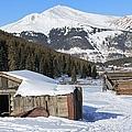 Snowy Cabins by Tonya Hance