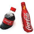 Snowy Coca - Cola by Fiona Kennard