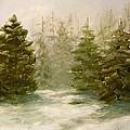 Snowy Day by Eldora Schober Larson