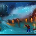 Snowy Fun by Steven Lebron Langston
