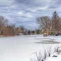 Snowy Lake by Jorge Perez - BlueBeardImagery