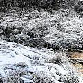 Snowy Mountain Stream V2 by Douglas Barnard