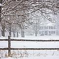 Snowy New England by Benjamin Williamson