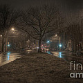 Snowy Nights by Kenny  Noddin