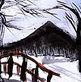 Snowy Path by Shelley Bain