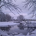 Snowy River Bend by Joshua Thompson