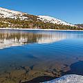 Snowy Shoreline by Marc Crumpler