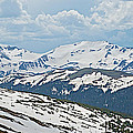 Snowy Terrain Near Top Of Trail Ridge Road In Rocky Mountain Np-co   by Ruth Hager
