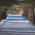 Snowy Trail by MTBobbins Photography