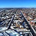 Snowy West Side Winter 2013 by Michael Frank Jr