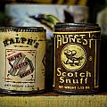 Snuff Tins by Heather Applegate