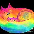 Snuggle Cats by Nick Gustafson