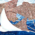 Soaring Eagle Rays by Pauline Walsh Jacobson