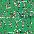 Soccer Alphabet by Eric Fronapfel