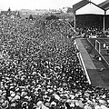 Soccer Crowd At Highbury by Underwood Archives