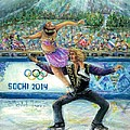 Sochi 2014 - Ice Dancing by Bernadette Krupa