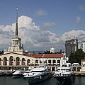 Sochi Harbor - Russia by Christiane Schulze Art And Photography