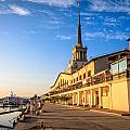 Sochi Sea Port by Alexey Stiop
