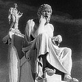 Socrates And Apollon by Andonis Katanos