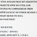 Socrates Quote by Rob Hans