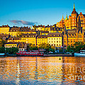 Sodermalm Skyline by Inge Johnsson