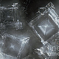 Sodium Hydroxide Crystals by Charles D Winters