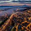 Sodo Sunrise Seattle Morning by Mike Reid