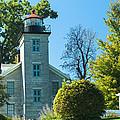 Sodus Pt Light House by Lou Cardinale