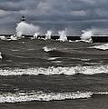 Sodus Waves by Chris Babcock