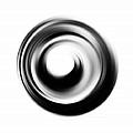 Soft Black Enso - Art By Sharon Cummings by Sharon Cummings