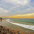 Soft Colors On The Coast by Lynn Bauer