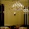 Soft Light In The Carolina Inn Ballroom by Paulette B Wright