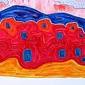 Soft Pueblo Original Painting by Sol Luckman