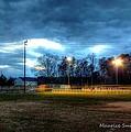 Softball Night At Matthews Elementary School by Maurice Smith