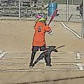 Softball Star by Michael Porchik