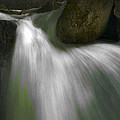 Softwater Of Cascade Creek by Bill Gallagher