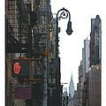 Soho Street Scene by David Kilborn