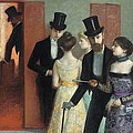 Soiree At The Opera by Ernest Rouart