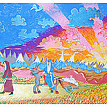 Sojourners Travelling by EBENLO Artist