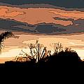 Solana Beach Sunset 2 by Kirt Tisdale