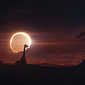 Solar Eclipse Over Africa by Tobias Roetsch