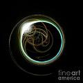 Solar Eclipse With Fractal by Antony McAulay