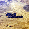 Solar Panels Aerial View by Thomas Woolworth