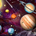 Solar System 2 by MGL Meiklejohn Graphics Licensing