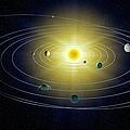 Solar System, Artwork by Andrzej Wojcicki